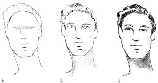 hhort haircut sketches for man how to draw hairstyles for male fashion figures dummies