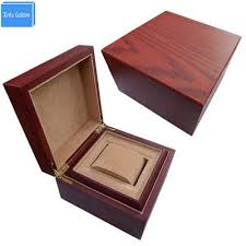 luxury wooden gift box for print logo chian top packaging