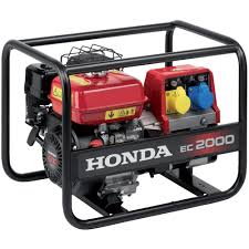 honda ec2000 petrol generator ideal for 110v power tools
