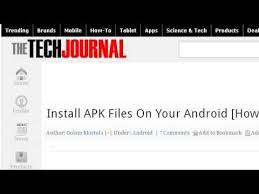 kindle install apk how to install a kindle app apk file on an android tablet