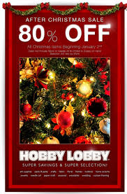 hobby lobby clearance now marked 80 al
