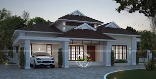 2248 sq ft 4 bedroom house plan in 2 different style amazing beautiful 4 bedroom single floor house