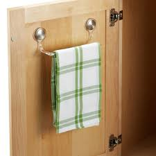Kitchen Cabinet Door Towel Rack Kitchen - Kitchen cabinet towel rack