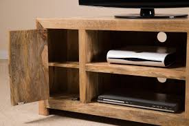 light wood corner tv stand solid wood corner tv cabinet large dakota mango furniture