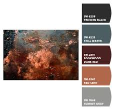 paint colors from chip it by sherwin williams rust reddish brown