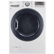 Propane Clothes Dryers Lg Electronics 7 4 Cu Ft Gas Dryer With Steam In White Dlgx3571w
