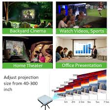 smart home theater projector aliexpress com buy nierbo mini 3d projector led full hd 1080p