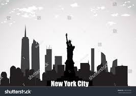 New York landscapes images New york city landscape stock vector 136433558 shutterstock jpg