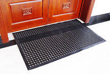 circle rubber door mats u0026 floor mats ebay