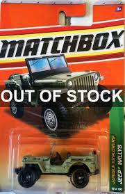 matchbox jeep willys jual matchbox jeep willys anaconda jkt toys tokopedia