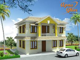4 bedrooms duplex 2 floor house design in 80m2 10m x 8m click