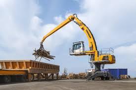 mobile material handling machines liebherr