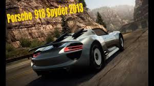 918 Porsche 2013 - nfs no limits porsche 918 spyder 2013 youtube