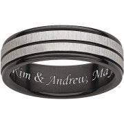 engraved men u0027s wedding bands