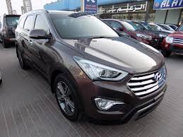 hyundai tucson 2016 brown hyundai santa fe 2016 brown gcc spec kargal uae