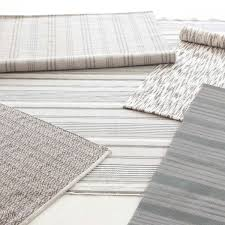 Affordable Area Rugs by Dash U0026 Albert Aland Stripe Cotton Woven Rug Zinc Door Rug
