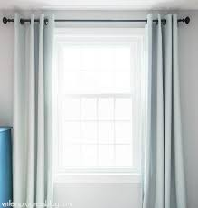 Hanging Curtains With How To Hang Curtains Simple Tips For A Bigger And Brighter Room