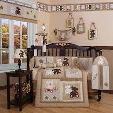 Walmart Crib Bedding Sets Geenny Teddy 13 Crib Bedding Set Walmart
