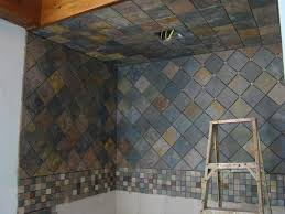 Slate Tile Bathroom Shower Best 25 Slate Shower Tile Ideas On Pinterest Slate Shower Bath