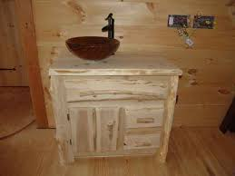 Bathroom Vanity With Vessel Sink by Rustic Furniture Bathroom Vanities Kitchen Cabinets Handmade