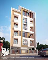 Apartment Drendering By Hsdindia Nirlepkaurid ArchDaily - Apartment facade design