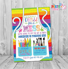 party supply party invitation party birthday invitation