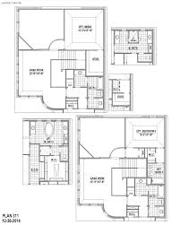plan 311 in castle hills the villas american legend homes