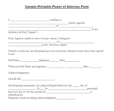 power of attorney template real estate forms