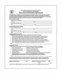 partnership contracts template template billybullock us