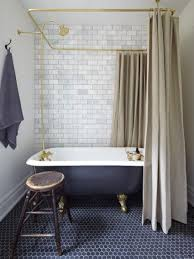 Clawfoot Tub Shower Curtain Rod You Can Make Yourself 10 Best Images About Bathroom Idea On Pinterest Neo Angle Shower