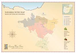 Italy Wine Regions Map by Navarra Wine Region Map Cellartours