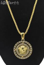 hip hop jewelry necklace images New mens 18k gold necklace hip hop jewelry for sale jpg