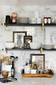 kitchen bookshelf ideas awesome open kitchen shelves decorating ideas gallery design