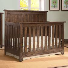 Rustic Convertible Crib Serta Northbrook 4 In 1 Crib In Rustic Oak
