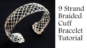 cuff bracelet tutorials images Jewelry tutorial 9 strand quot viking quot weave braided bracelet jpg