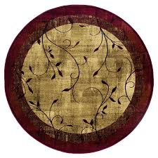 Round Tropical Area Rugs by Shop Rugs At Lowes Com