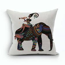 Chocolate Cushion Covers Online Get Cheap Ethnic Cushion Cover Aliexpress Com Alibaba Group