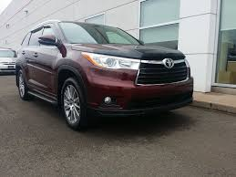 used 2014 toyota highlander xle awd in amherst used inventory