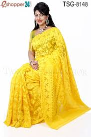 bangladeshi jamdani saree collection tangail moslin silk jamdani saree tsg 8148 online shopping in