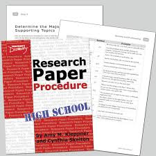 Advertising Research Paper Procedure In Writing Research Paper How To Write A Paper On