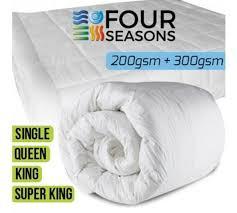 All Seasons Duvets Bartercard Marketplace Four Seasons 3 In 1 All Seasons Duvet
