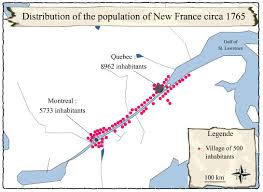 New France Map by From A Bay To A Gulf U2013 Societies And Territories