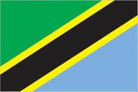 Green Yellow And Black Flag Tanzania