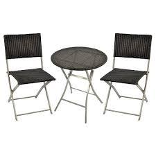Bistro Patio Chairs Wicker 3pc Bistro Patio Set Threshold Target