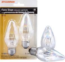 sylvania decorative light bulbs sylvania 60 watt f15 iridescent dimmable incandescent light bulbs