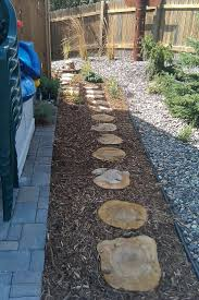 round patio stone 22 best stone wood path images on pinterest garden paths