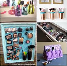 18 clever ways to store makeup in a small bedroom