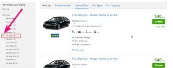how to save on a rental car my 4 secrets
