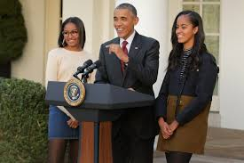 malia obama thanksgiving turkey pardon president obama