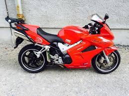 Honda Vfr800 2003 Red Vtec Abs Sports Tourer 9800 Miles